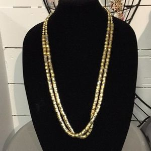 Jewelry - Gold Double Strand Necklace
